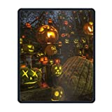 Personalized Mouse Pad - Holiday Halloween Design and Make Your own Customized Mousepad.