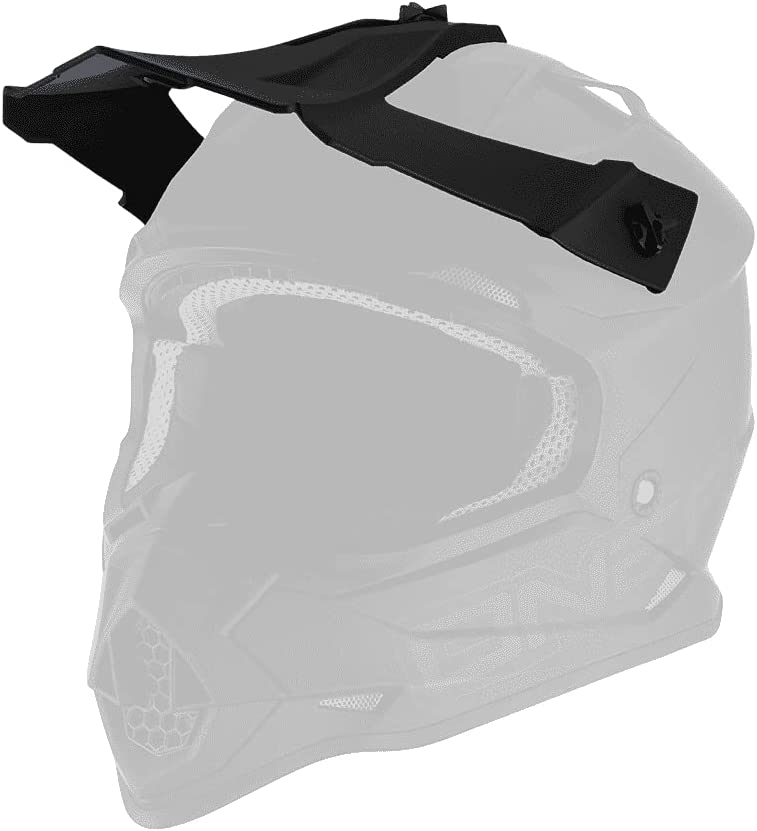 Today's only O'Neal Same day shipping 2 Series Helmet Replacement Peak Black Visor Flat