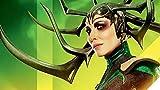 YIERLIFE 3D Tela no tejida Mural de papel pintado Pared - Personajes geniales de héroes de...