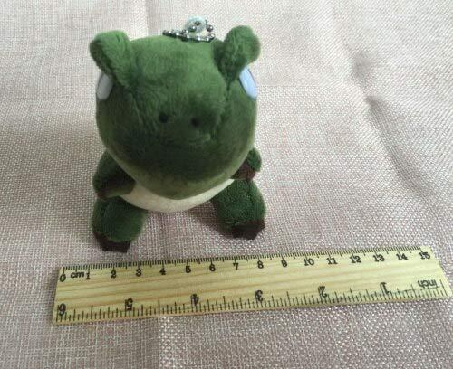 CGDZ 3 Farben - Kawaii Mini Dinosaurier Spielzeug, Drachen Plüsch Stofftier, 10cm Höhe Ca. Schlüsselanhänger Anhänger Plüschtier Puppe 1