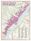 Carte des vins de Côte- Rotie