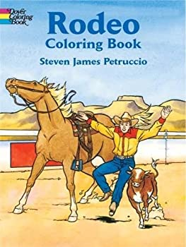 Rodeo Coloring Book  Dover History Coloring Book