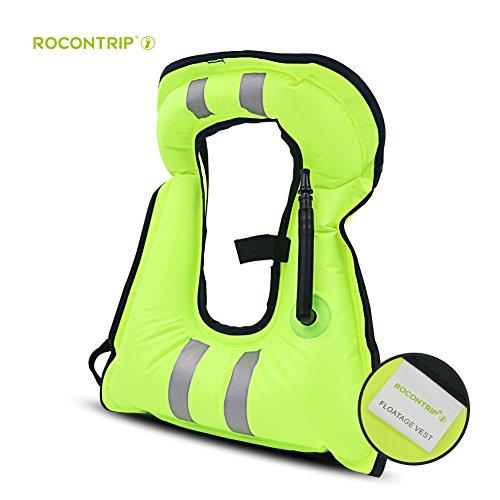 snorkeling floatation vest