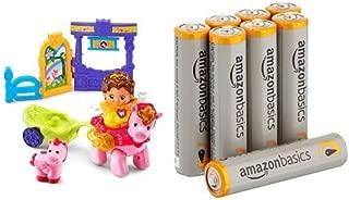 VTech Go! Go! Smart Friends Magical Journey Unicorn with Amazon Basics AAA Batteries Bundle