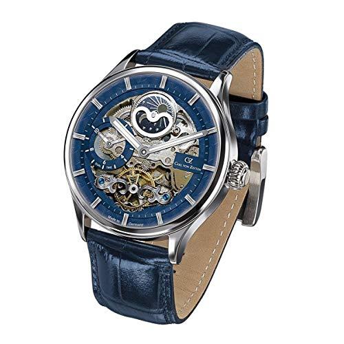 Carl von Zeyten Klassische Uhr CVZ0008BL