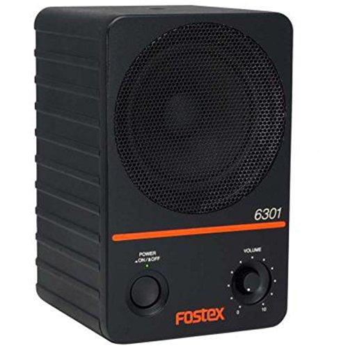 Monitor autoamplificado FOSTEX con altavoz cónico de rango completo y las mismas dimensiones que sus modelos antecesores