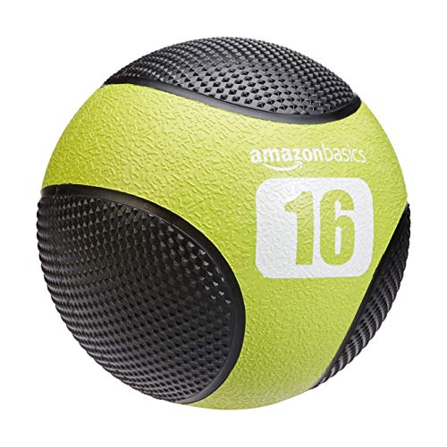 AmazonBasics Double Grip Type Medicine Ball, 12-lb