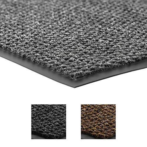 Notrax - 136S0023GY 136 Polynib Entrance Mat, for Home or Office, 2' X 3' Gray