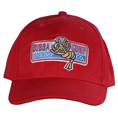 Forrest Gump Bubba Gump Kappe Hut Red Baseball Cap