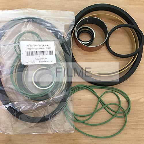 Kit de válvula de descarga de repuesto para compresor de aire Atlas Copco, 2906077200, 1