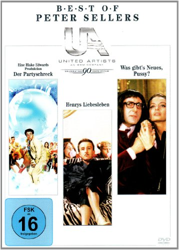 Peter Sellers Comedy Box [3 DVDs]