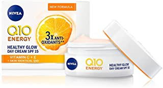 NIVEA Q10 Energy Healthy Glow Face Tagescreme (50 ml), Energisierende Tagescreme,..