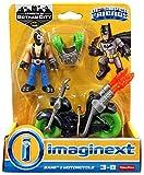 Fisher-Price Imaginext DC Super Friends Bane Figura de acción y motocicleta
