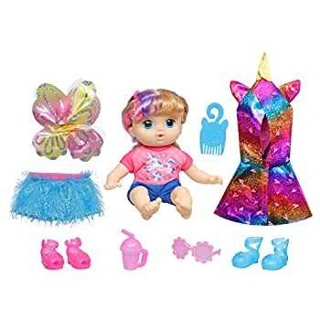 Littles by Baby Alive Fantasy Styles Squad Doll Little Kiera Fairytale Accessories Wavy Blonde Hair Toy for Kids Ages 3 Years and Up  Amazon Exclusive