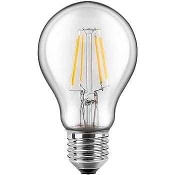 LED Filament Leuchtmittel Birnenform A60 7W = 60W E27 klar warmweiß 2700K Ra/>90