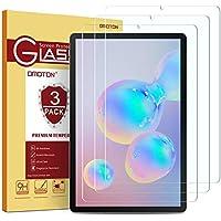 OMOTON Protector Pantalla Samsung Galaxy Tab S5e SM-T720/ T725, Samsung Galaxy Tab S6 SM-T860/ T865 Cristal Templado Samsung Tab S5e / Tab S6 10.5 Pulgadas, 2.5D Borde, Anti-arañazos, 3 Pack