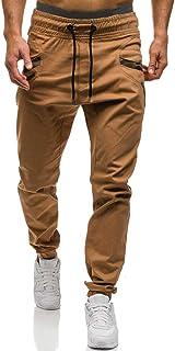 Mens Fashion Joggers Athletic Pants - Sweatpants Trousers Cotton Cargo Pants Mens Long Pants