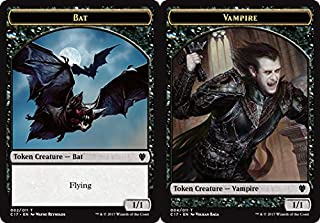 Wizards of the Coast Bat // Vampire Token - Commander 2017