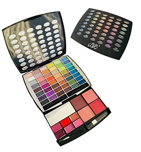 BR Beauty Revolution Glamour Girl Makeup Kit 43 Eyeshadow / 9 Blush / 6 Lip Gloss