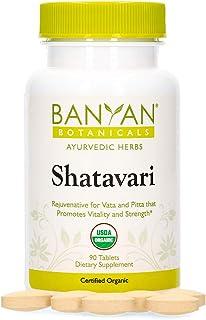 Banyan Botanicals Shatavari Supplements – Organic Shatavari Root Extract – Calming, Cooling, Supports Rejuvenation, Promot...