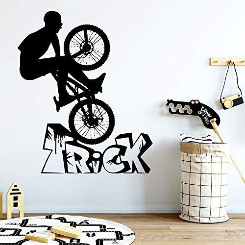 sanzangtang Mignon Sports Astuce Sticker Mural Autocollant Chambre d'enfant Décoration de La Maison Salon Décoration de La Maison Art Decal 45x54 cm