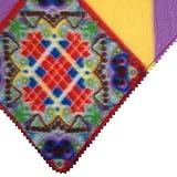 Stylisches Halstuch – für den coolen Hund im Winter (blau/rot) - 2