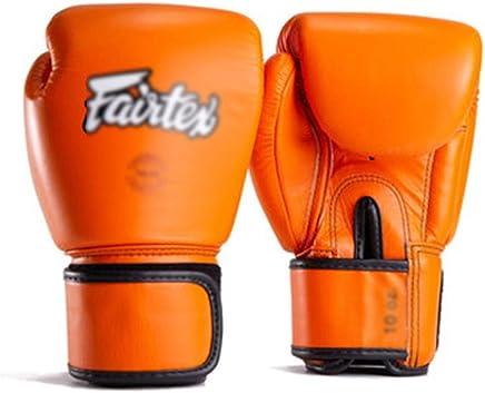 XBQJST Orange Boxhandschuhe, Muay Thai Fighting Professional Erwachsene Männer Und Frauen Kämpfen Training Boxhandschuhe - 8 10   12oz B07NSJVMF5     | Großer Verkauf