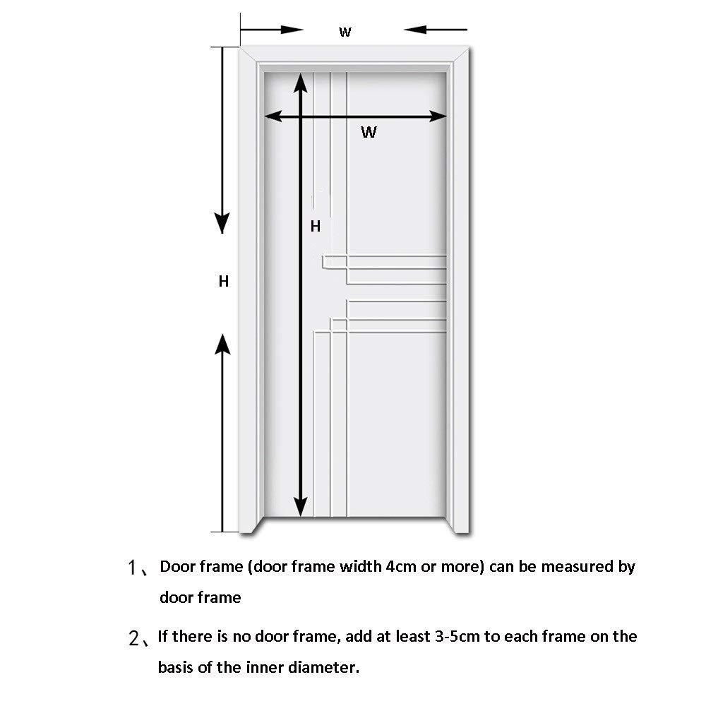 Cortina Mosquitera Para Puertas ZXMEI Colorear Cortina Magnética De La Red De La Pantalla del Insecto De Vuelo, La Puerta De La Mosca Mantiene A Los Insectos Adecuado para Puertas De Patio:
