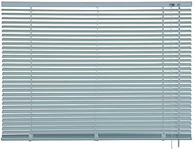mydeco 62742Cortina persiana (Aluminio, 60x 175cm), Acero Inoxidable/Efecto