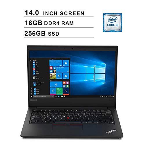 Lenovo ThinkPad E490 14 Inch FHD Laptop (Intel Quad-Core i5-8265U up to...