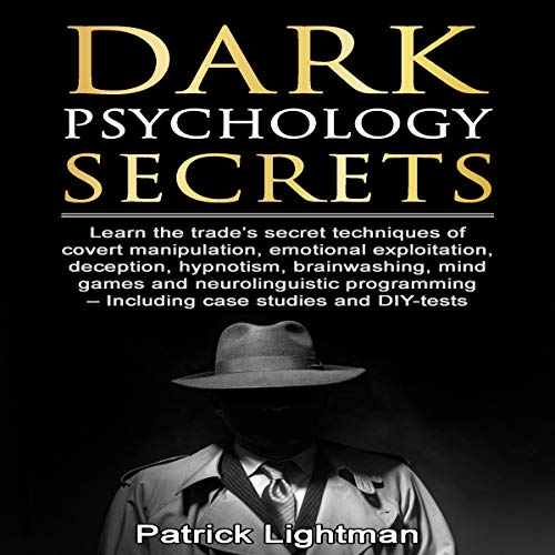 『Dark Psychology Secrets』のカバーアート