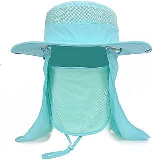 ZRL77y Ladies Wide Soft Brimmed Sun Hat,Packable Women Summer Sun Hats,Outdoor Sunhat,Summer Beach Hat (Color : Blue)