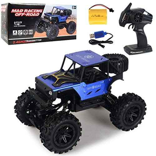 Great Features Of HHoo88 RC 1:14 2.4G 2WD Driver High Speed Off-Road Wireless Remote Control Car Bir...