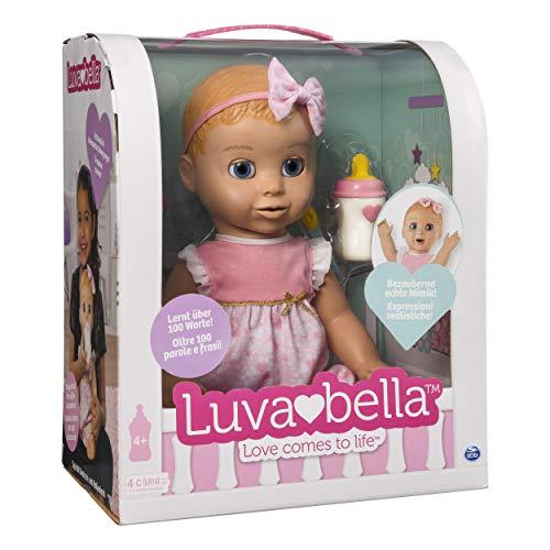 Luvabella 6039298 - Interactieve pop met spraakfunctie - Duitse versie