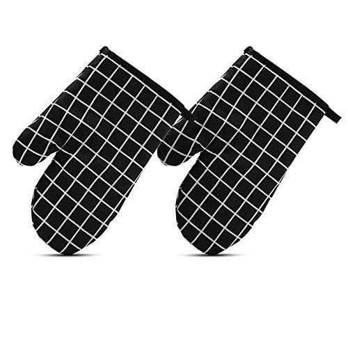 NHYTG Ofenhandschuhe Ofenmikrowellenhandschuhe Verärgerte Isolierung Hitzebeständige rutschfeste Pfanne Backform Grill Grill Wärmeisolierendes Werkzeug Backwerkzeuge 95Tgg