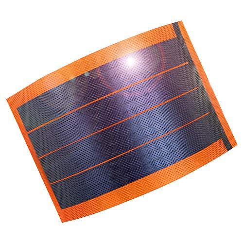 jiang Flexible Amorphous Small Thin Film Solar Panel Portable Solar Power Charger DIY 1W 6V Photovoltaic Cells
