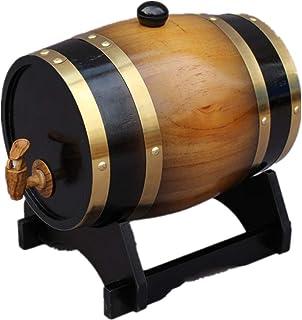 1.5L Chêne Seau de Vieillissement, Décor à La Maison Baril Bar Restaurant Cabinet Affichage Seau de Stockage Du Vin pour S...