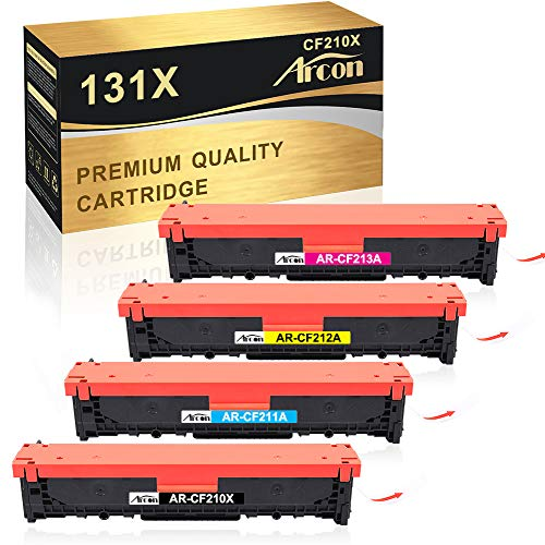 Arcon - Tóner compatible con HP 128A CE320A, color multicolor