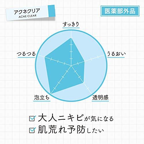 【Amazon.co.jp限定】【医薬部外品】ロゼット洗顔パスタアクネクリア180g大容量