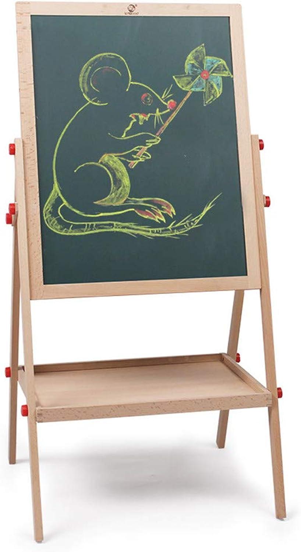ganancia cero Tablero de dibujo dibujo dibujo infantil grande   infantil blanco Tablero de dibujo magnético ajustable de doble Cochea del caballete del arte permanente multifuncional con los clips de papel Scratch Magna Graffiti ta  ofreciendo 100%