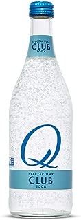 Q Mixers Club Soda, Premium Cocktail Mixer, 500 mL (6 Bottles)