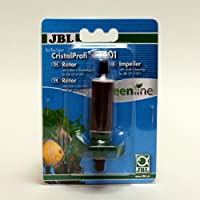 Remove filter head, open bayonet catch of impeller lid, remove defective impeller with axis and bearings and replace them with spare impeller and new bearings. Complete kit with all replaceable parts JBL pulling aid for impeller bearing facilitates t...