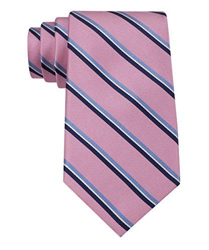 Tommy Hilfiger Men s Stripe Tie, Pink, One Size