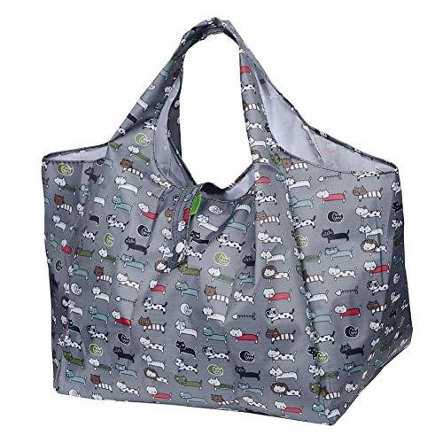 DZTSMART エコバッグ コンビニバッグ 折りたたみエコバッグ 買い物袋 レジカゴバッグ 収納 小SMALL おしゃ...