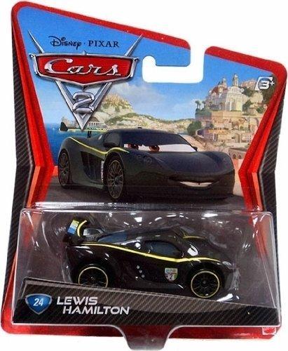 Disney Pixar Cars 2 - Lewis Hamilton by Mattel