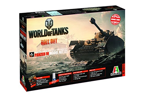 Italeri 36513 World of Tanks Panzer IV Model kit carri armati plastica Scala 1:35