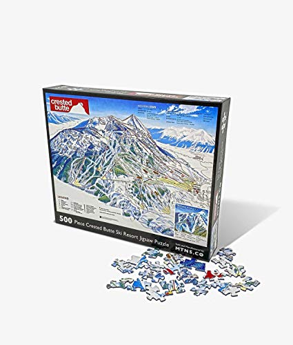 Crested Butte Jigsaw Puzzle   500 Piece Ski Resort Jigsaw Puzzle