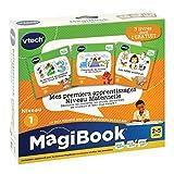 VTech - Livre MagiBook - Mes premiers apprentissages Niveau maternelle - Pack de 3 livres, livres éducatifs – Version FR
