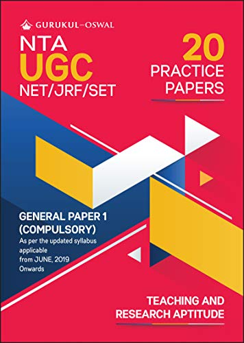 20 Practice Papers- General Paper 1 (Teaching and Research Aptitude): UGC NET/JRF for 2020 Examination