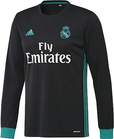 adidas A JSY LS Camiseta 2ª Equipación Real Madrid 2017-2018 - Champions League Hombre